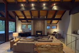 lake home interiors interior astonishing lake house design living room with l shape