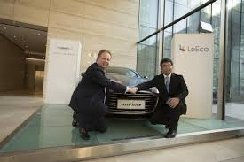 The Motoring World New Next by The Motoring World Leeco And Luxury Sports Car Brand Aston Martin