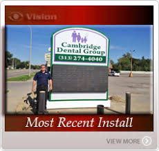 outdoor signs led sign company business signage lighted signs time