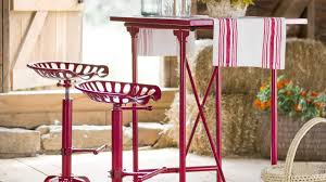 dining room interesting iron tractor seat stool with cheap price