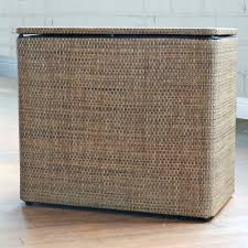 Laundry Hamper Australia by Well Groomed Wicker Laundry Hamper With Roxie Brown Bench Hamper