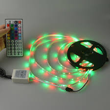 rgb led strip lighting 2835 3528 smd 5m rgb led strip flexible strip light 24