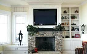 fireplace mantel height with tv above smrtphone stovers