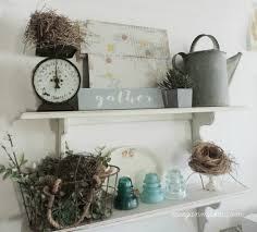vintage style open shelves what meegan makes