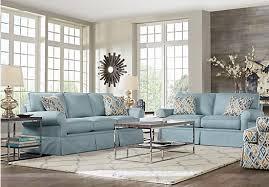 Affordable Living Room Sets Provincetown Sky 7 Pc Living Room 1 777 00 Find Affordable