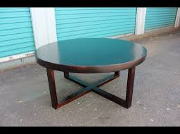 how to make a round table how to make a round wood coffee table easy peasy youtube