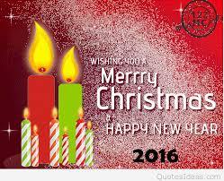 wishing merry and happy new year 2016