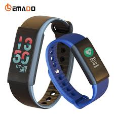 wrist bracelet monitor images Lemado f600 smart band blood pressure heart rate monitor wrist jpg