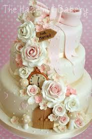 the hazelnut bakery alice in wonderland wedding cake love it