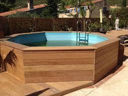 jacuzzi bois exterieur pour terrasse création terrasse bois de 100 m et aménagement paysager à la