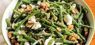 cuisiner des haricots verts frais recette de pique nique salade de haricots verts à la feta