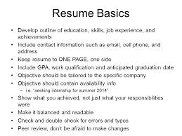 Resume Objective For Job Fair by Effective Engineering Resumes U0026 Job Fair Preparation Joanne Lax
