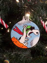 1 snoopy flying ace the pilot baron ornament tree 2012