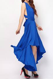 cobalt high low convertible dress plus size bridesmaid dresses hl