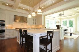 Pottery Barn Counter Stool Seagrass Counter Stools Transitional Kitchen Blake Shaw Homes