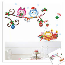 Decorative Owls by Owls On Tree Wall Stickers For Kids Rooms U2013 Wise Owls