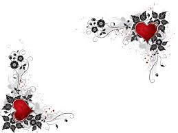 heart design for powerpoint red heart flower powerpoint templates red heart flower download image