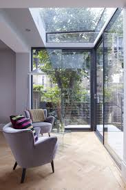 Sunroom Extension Designs Modern Glass Extension On A 5 Story London Townhouse Design Milk