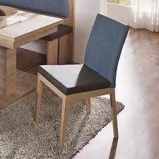 Lederstuhl Esszimmer Design Stuhl Adrine In Braun Türkis Für Das Esszimmer Pharao24 De