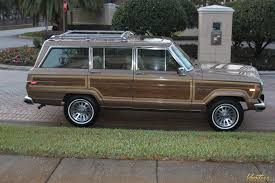 bronze jeep 1988 jeep grand wagoneer sold vantage sports cars vantage
