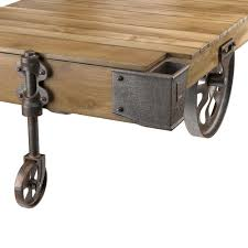 factory cart coffee table 3d model cgtrader