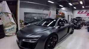 nardo grey r8 audi r8 wrapped into satin grey by wrap workz hong kong gopro hd