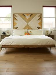 Modern Bed Design Midcentury Modern Bed Wooden Headboard For The Home