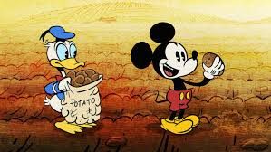 potatoland mickey mouse and friends disney