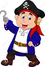 cute pirate kid cartoon royalty free cliparts vectors and stock