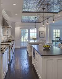 Foam Ceiling Tile by Ceiling Tile Inset Mirroring Beautiful Kitchen Island Duo