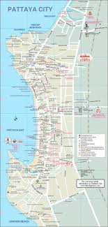 bangkok map tourist attractions best 25 pattaya ideas on thailand of map tourist