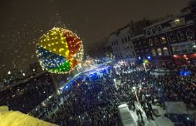 china light bangor maine bangor rings in 2017 at snowy 13th annual ball drop bangor