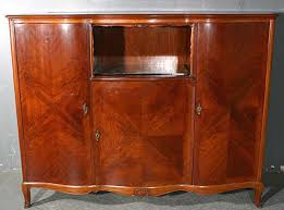 rare tall rosewood french sideboard buffet credenza bar for sale