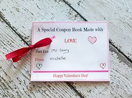 valentines gifts for husband 10 valentines day coupon book free printables
