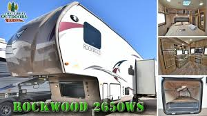 2017 forest river rockwood 2650ws r1051 colorado dealer fifth