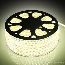 ip67 led strip lights 110v 220v ac smd3528 led strip light with a eu us power plug