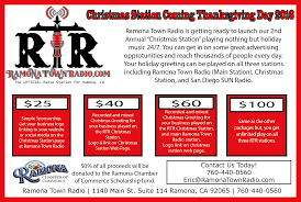 get ready for thanksgiving 2nd annual christmas station coming thanksgiving morning 2016