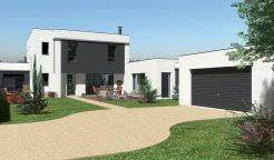 plan maison moderne 5 chambres maison contemporaine à étage 200 m 4 chambres