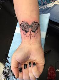 25 unique butterfly wrist tattoo ideas on pinterest small