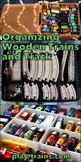 train and track table organizing wooden trains and track the play trains ultimate