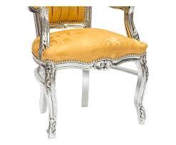 antica soffitta antica soffitta poltrona sedia barocco luigi xvi argento oro in