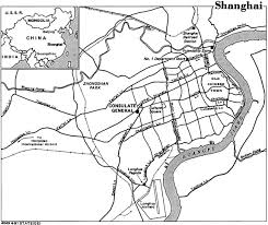 Map Of Shanghai China by