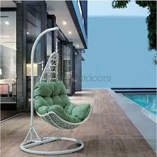 Hanging Chairs Outdoor Bondi Hanging Outdoor Wicker Chair Bare Outdoors