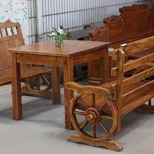 wood furniture solid wood dining table and chairs sets of tables