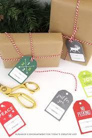 free printable christmas gift tags today u0027s creative life