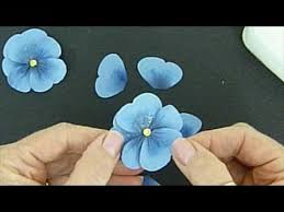 Paper Flowers Video - pretty paper pansies using stampin up u0027s butterfly punch