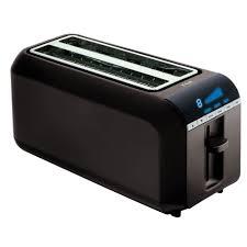 Walmart 4 Slice Toaster T Fal Tt6802002 4 Slice Digital Toaster Black