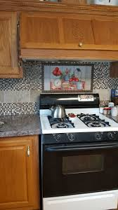 Kitchen Tile Murals Backsplash by Decorative Tile Backsplash Kitchen Tile Ideas Moms Apple Pie