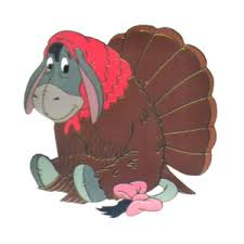 disney thanksgiving eeyore turkey clip image disn