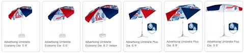 Custom Patio Umbrellas Custom Patio Umbrellas Logo Printed Market Cafe Restaurant